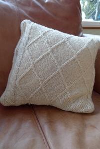 Jumper cushion cover
