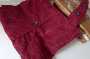 Burgundy Jacket Bag