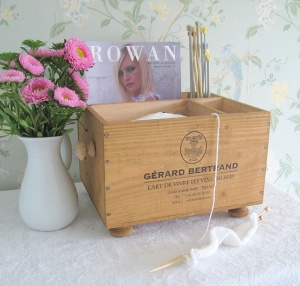 Upcycled wine crates from www.baxterandsnow.co.uk