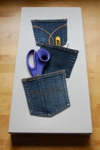 Denim Pocket Storage