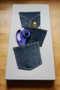 Denim Pocket Storage